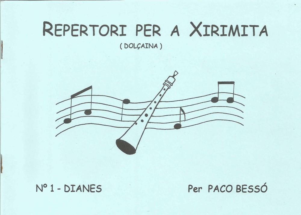 Repertori per a xirimita-dolçaina nº 1 Dianes