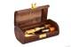 Caja para guardar hasta 4 cañas con 2 tudeles - Bessó